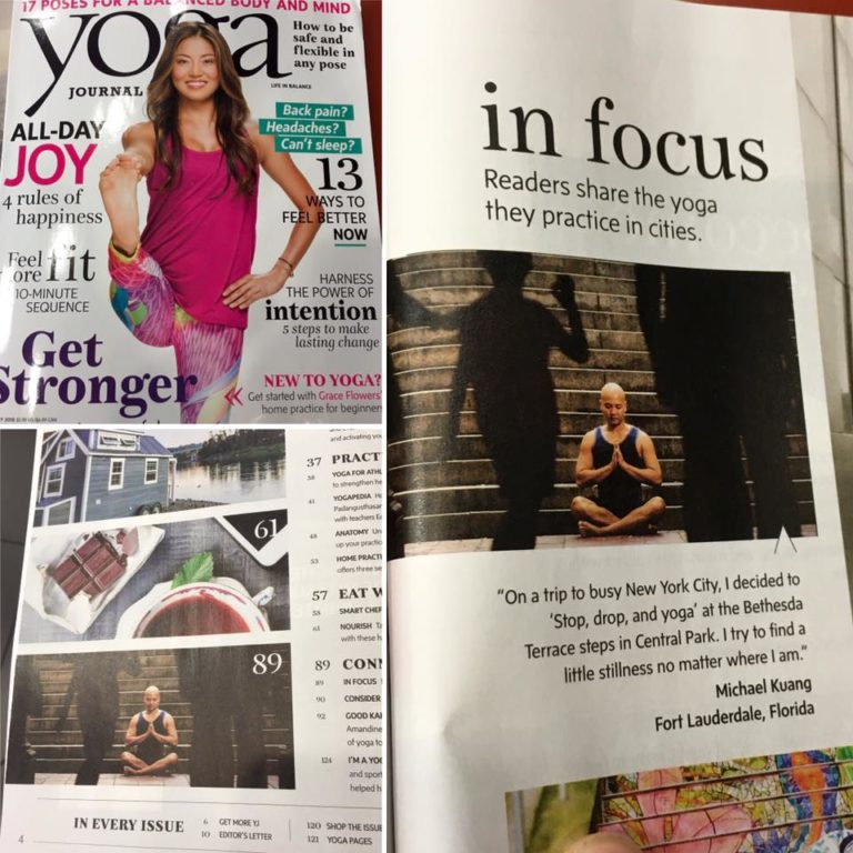Syphon Fitness Featured in the February 2016 issue of Yoga Journal